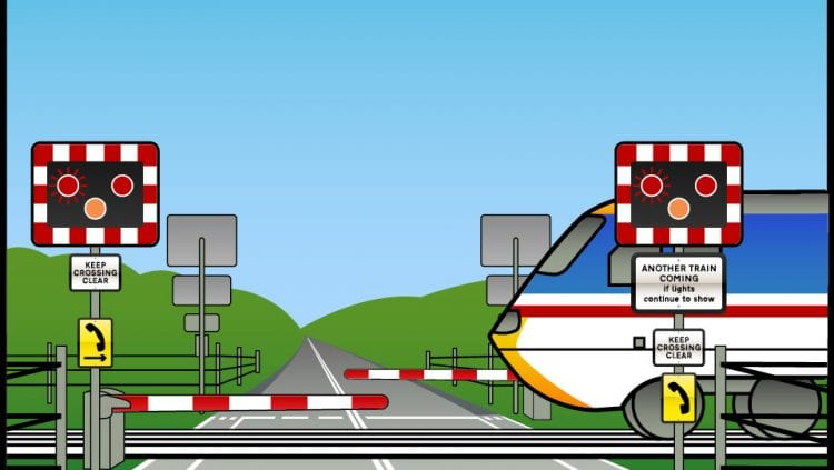 GSM Controlled Level Crossing