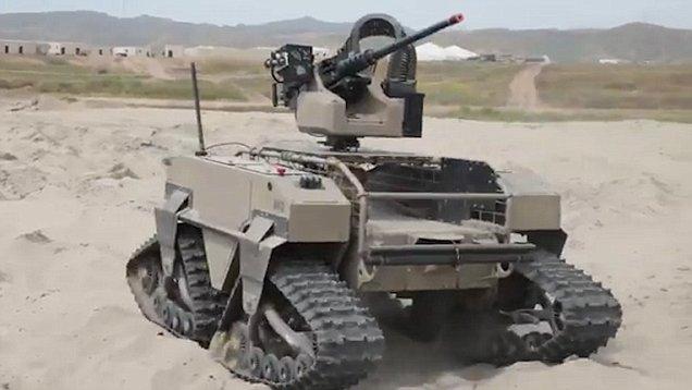 Multipurpose Robot For Military