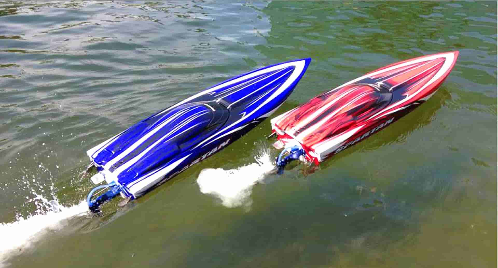 Design and fabrication RC speedboat