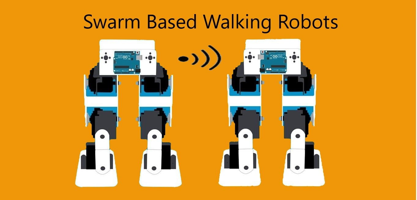 Swarm Based Walking Robot