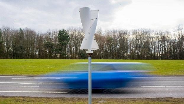 Traffic Wind Turbine
