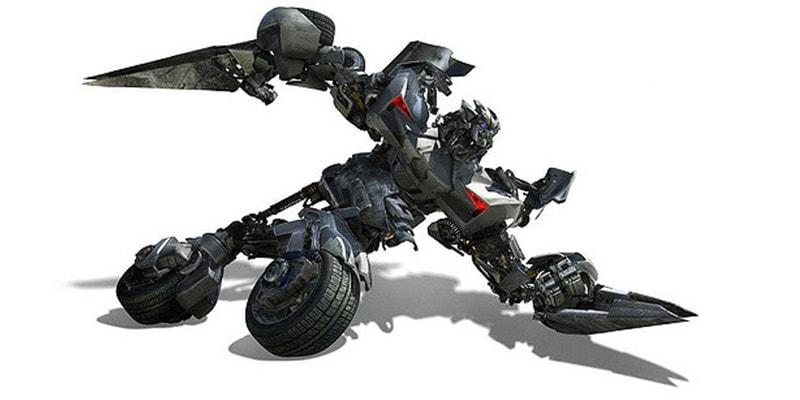 Transformer Humanoid Automobile