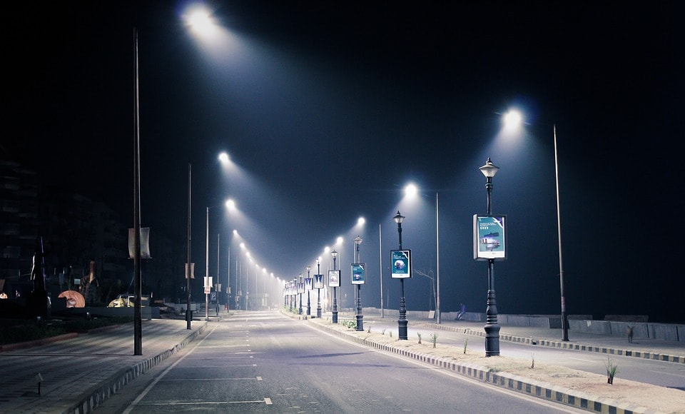 Occupancy based Street lighting System