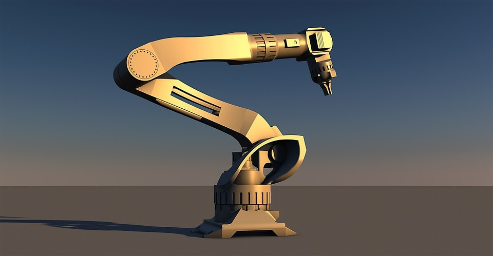 Wrist Controlled Robotic Arm
