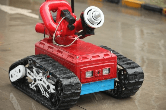 Autonomous Firefighting Robot