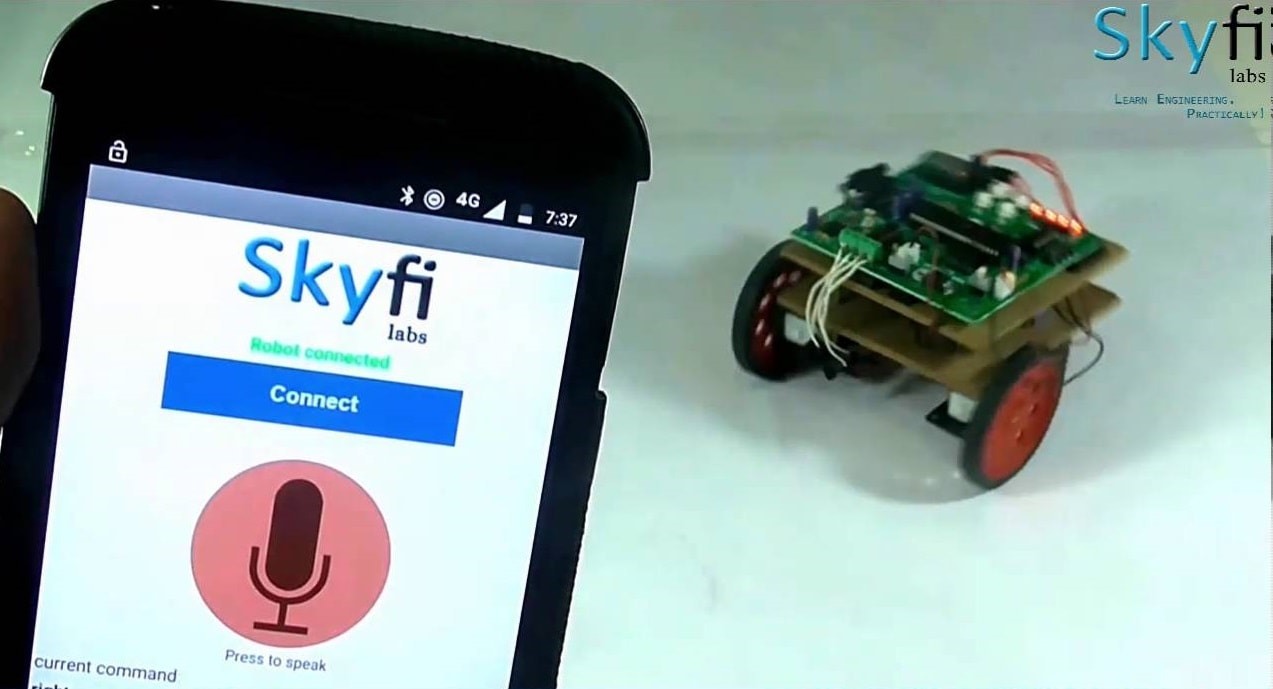 GPS Guided Mobile Robot
