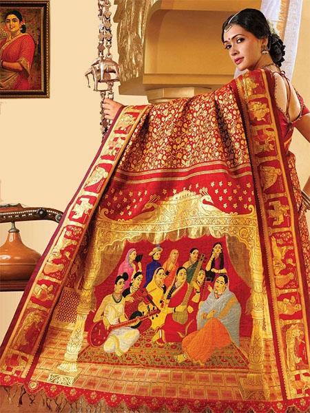 b4e6ee176d37a3 Kanjeevaram Silk Sarees: History, Design, Textiles & Celebrity ...