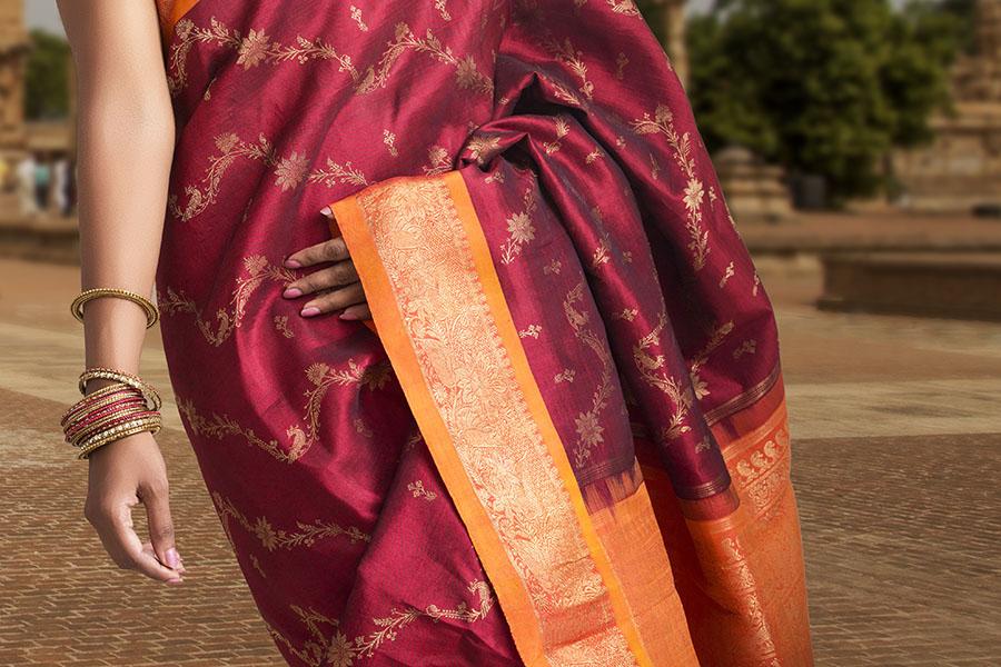 Kanjeevaram Silk Sarees History Design Textiles Celebrity Sarees The Ethnic Soul