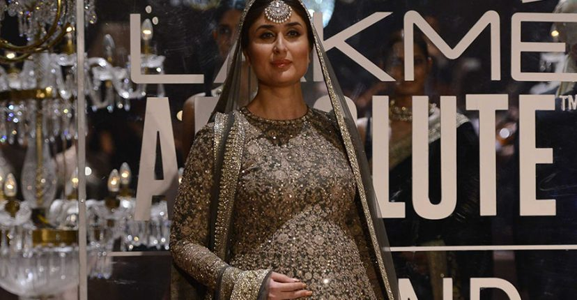 Kareena Kapoor at Lakme Fashion Week