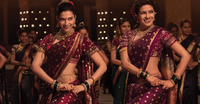 Deepika and Priyanka in Nauvari sarees