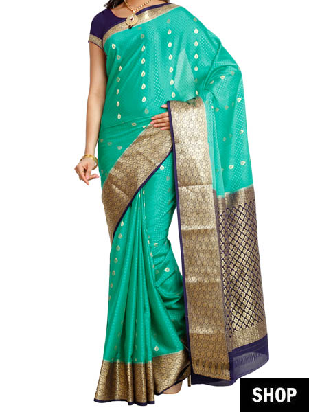 5920eee7eb 6 South Indian Sarees Every Indian Woman Needs In Her Wardrobe | The ...