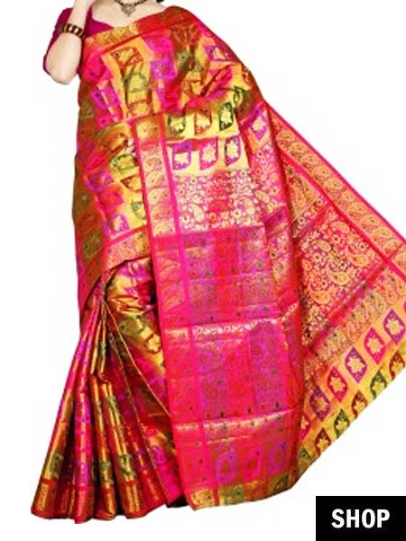 b4795bae2a 6 South Indian Sarees Every Indian Woman Needs In Her Wardrobe | The ...