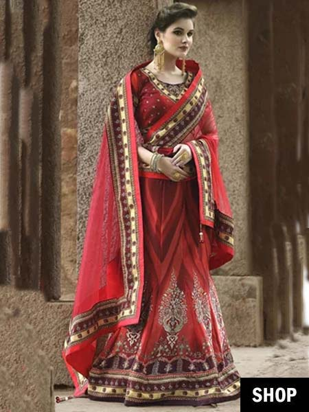 739aed7323 5 Style Hacks To Look Slimmer In Lehenga This Wedding Season | The ...