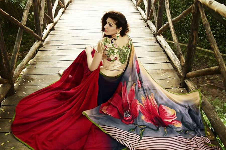 036e6480098566 The Festive Edit  The Printed Saree Collection You Need To Own