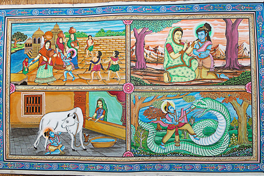 Pattachitra art telling stories