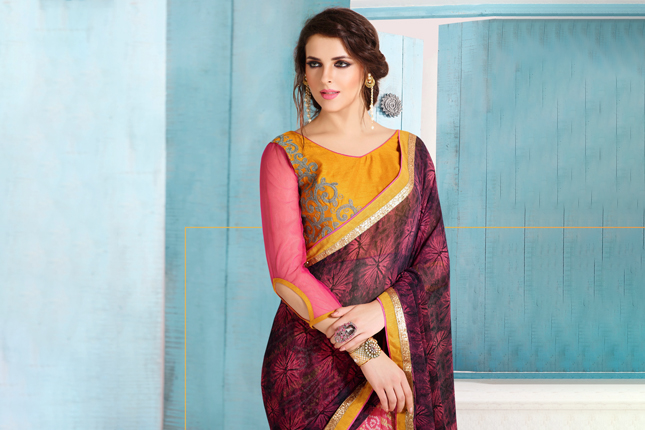 Tips to look slimmer in a saree