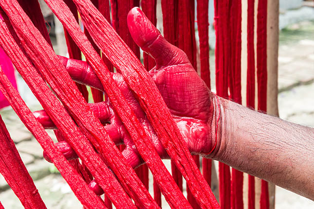 The History And Art Of Weaving A Jamdani Saree | The Ethnic Soul