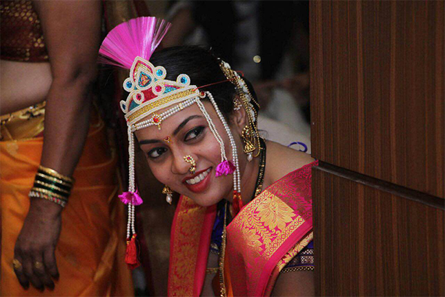 Real Brides Of India A Peek Inside The Traditional Maharashtrian