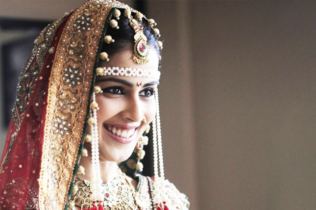 Genelia as a bride