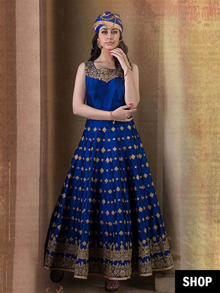 595f63d348 If you have always dreamt of a fairytale wedding, but in desi style, here  is your best bet. The ball gown style of lehengas, skirts or anarkalis is a  ...
