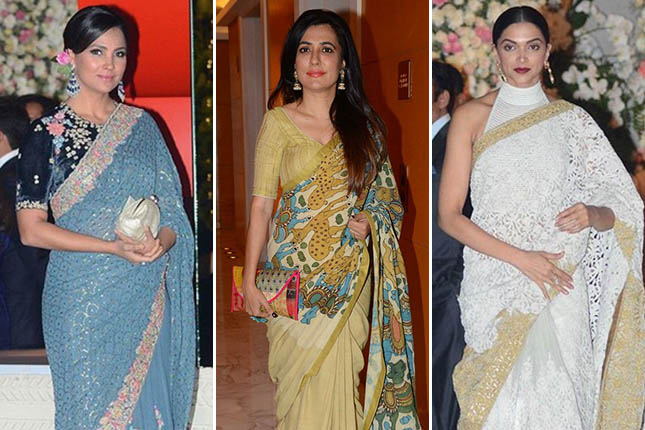 Bollywood celebrity sarees