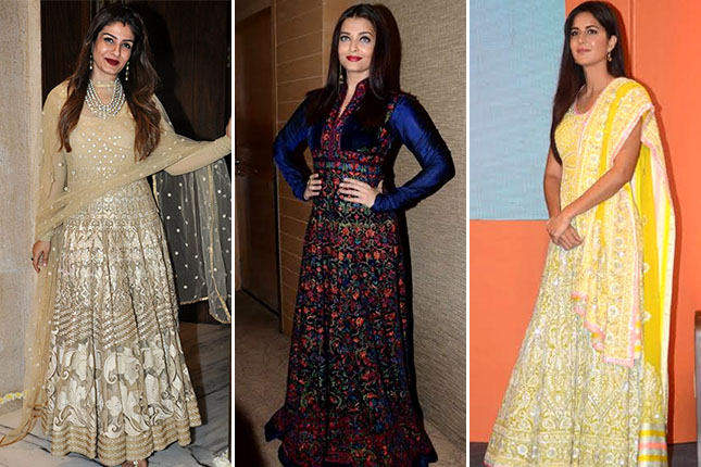 Bollywood anarkali gowns