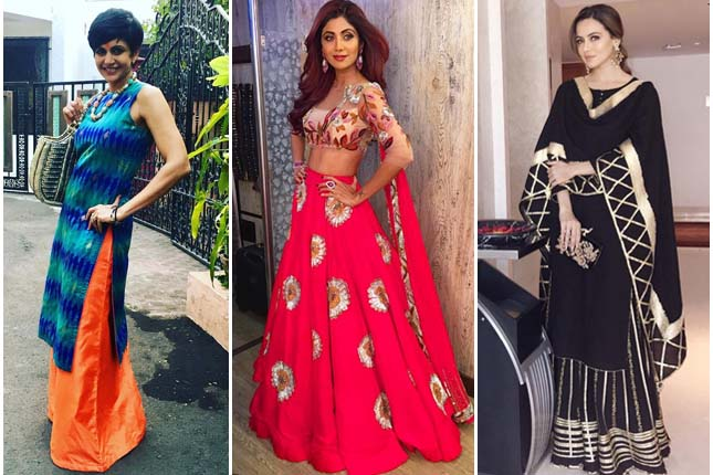 Bollywood ethnic looks