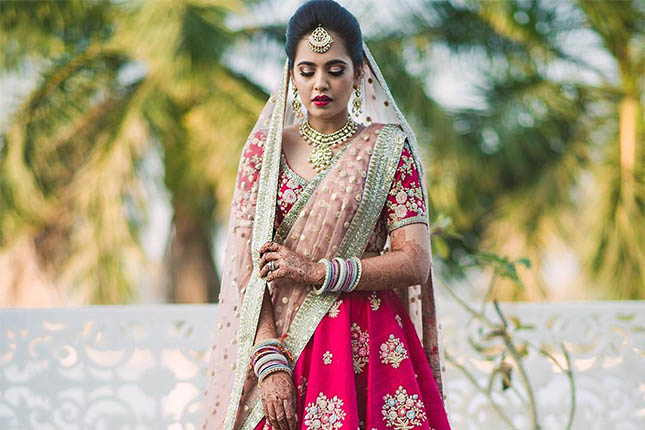 Indian fashion blogger wedding
