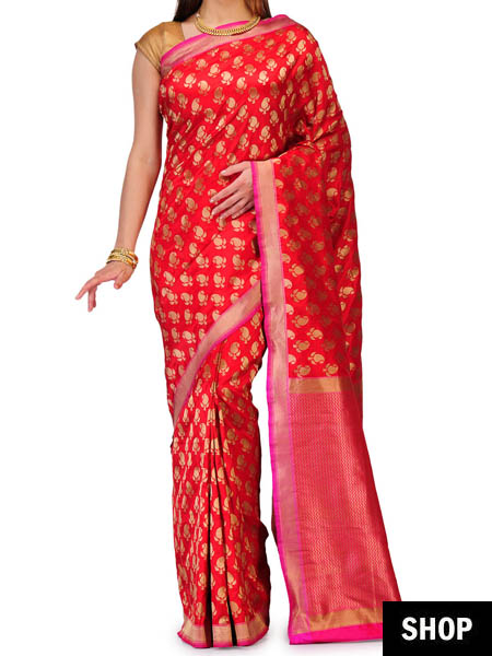 cdaf896e409 North Indian Sarees For The Woman Who Loves Her Six Yards