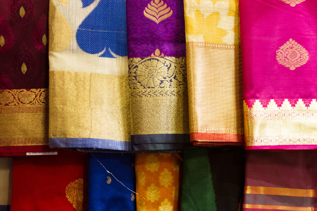 North Indian sarees