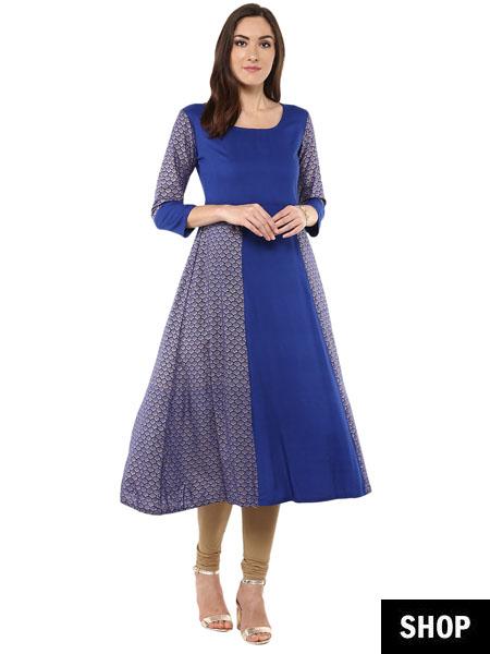 3081c43e16 7 Kurti Designs That Make Short Women Look Taller