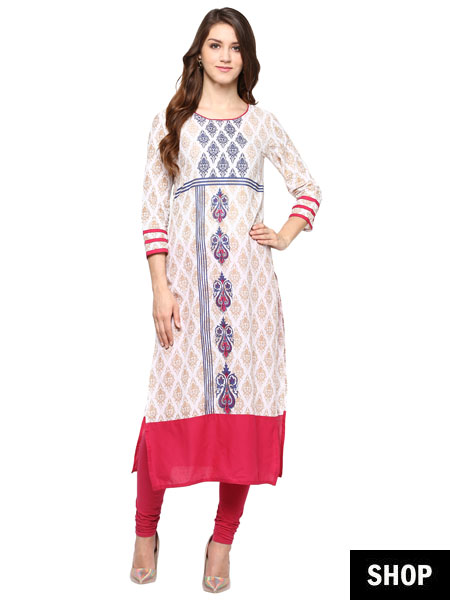 7 Kurti Designs That Make Short Women Look Taller | The