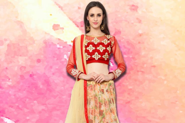 2e0c560f746a8c Lehenga Designs For Pear Shaped Body | The Ethnic Soul