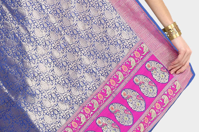 banarasi saree fabric
