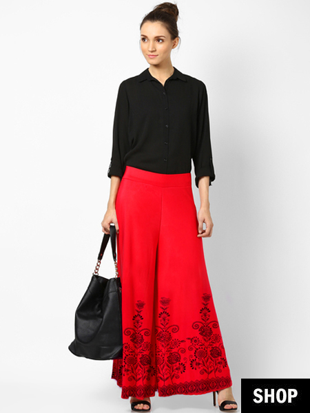 How To Pick The Perfect Palazzo Pants For Your Body Type | The