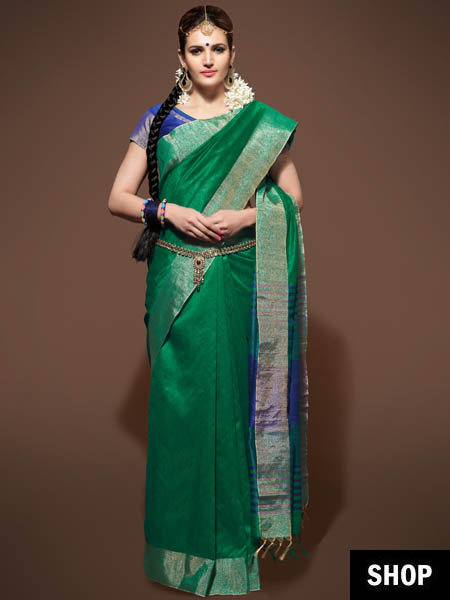 10 Saree Colours That Look Great On Indian Skin Tones | The