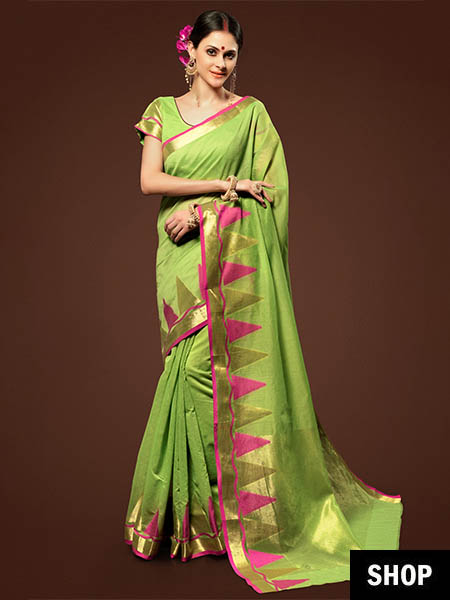 10 Saree Colours That Look Great On Indian Skin Tones