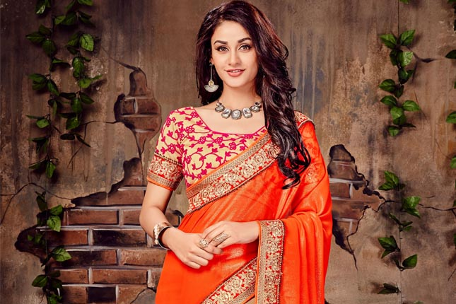 ab41c9f5c27c 10 Saree Colours That Look Great On Indian Skin Tones