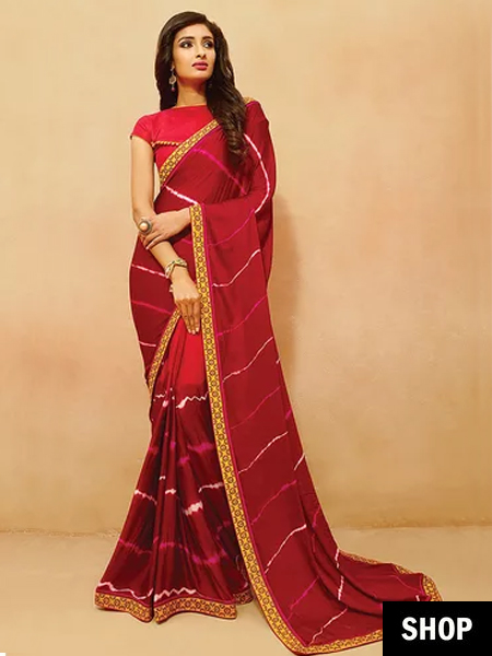 c1045333e3fb24 7 Easy Tricks To Look Slim And Tall In A Saree Without Heels