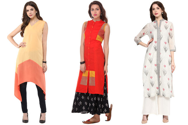 86161761eab 7 Smart Kurti Styling Tips Every Short Woman Should Know