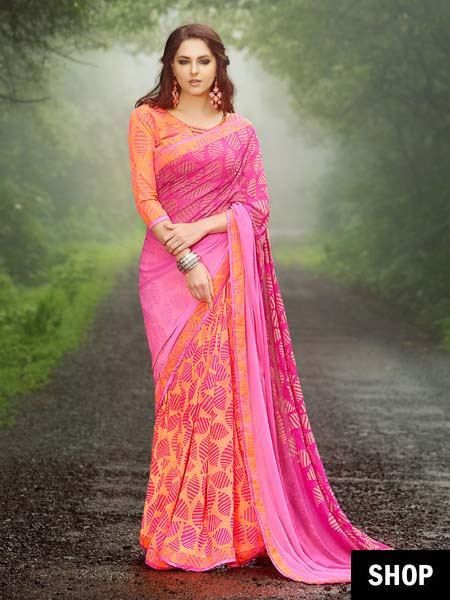 ce89892404 Party Wear Sarees For The Fashionista On A Budget   The Ethnic Soul