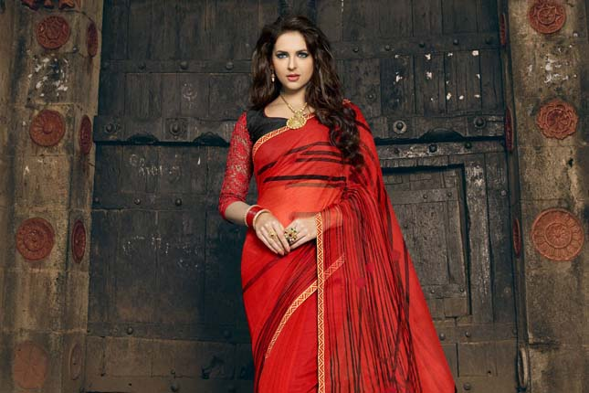 Party wear sarees on a budget