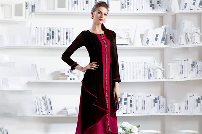 Trendy kurti designs in budget
