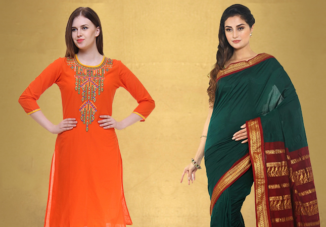 Gorgeous Kurtis & Sarees Perfect For Ganpati Festival