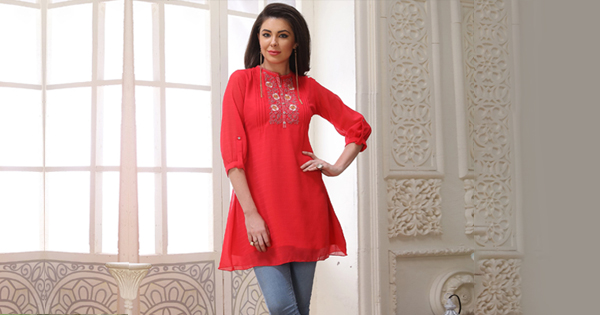 Indo Western Kurtis To Suit Your Daily Jeans!