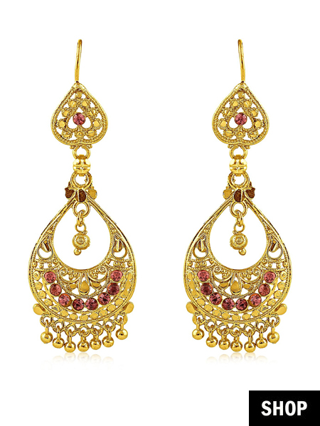1fd0145d1 These resplendent pair of Danglers will make your outfit the star of the  Wedding season. You know what they say about having a hero accessory that  works for ...