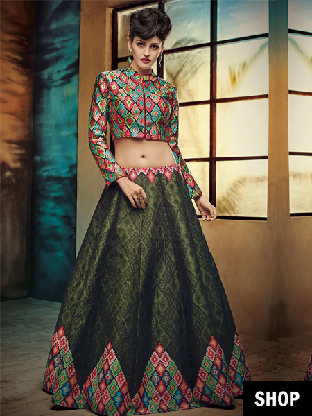 e4ba0e598 Have you locked up all those gorgeous Lehengas after the wedding season and  don't really know what to do with them? Does your heart weep for those  beautiful ...