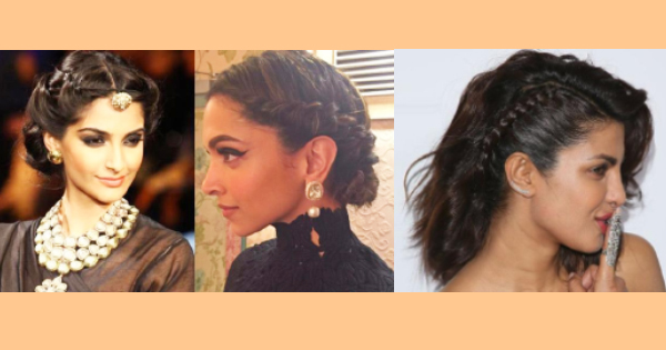 Five Five Diwali Hairstyles with Anarkali and Gown.