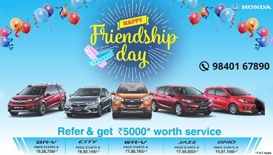 Capital Honda Was Established In 2007 As Authorized Dealers For Cars India And Has Since Been Catering To The Personal Transport Needs Of People