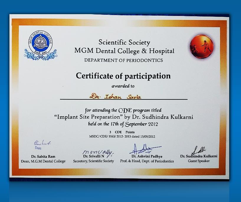 Awards Recognition Surbhi Dental Care Best Dental Clinic In Mumbai